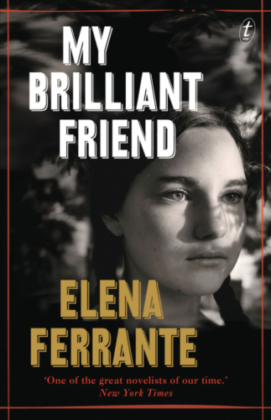 My Brilliant Friend Elena Ferrante book cover